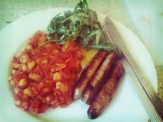 I made some homemade baked beans. They were nice.