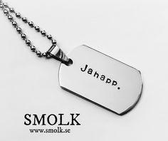 Produkten Jahapp. säljs av SMOLK -Handstamped jewelry with a twist i vår Tictail-butik. Tictail låter dig skapa en snygg nätbutik helt gratis - tictail.com