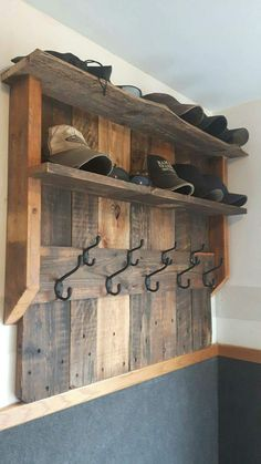 This would be awesome in a mud room or kids room.