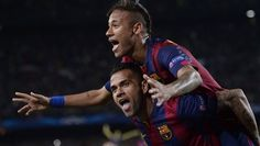 If Luis Suarez or Lionel Messi don't get you, Neymar will. Suarez inflicted the damage on PSG in Paris, Neymar scored twice at home and there is always the threat of Messi, one of the game's greats. Barcelona are rightly feared. That sharp attacking trident can skewer anyone.