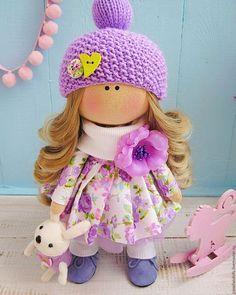 Купить или заказать Цветочная фея в интернет-магазине на Ярмарке Мастеров. Яркая, весенняя кукла радует глаз! Глядя на куколку, невольно хочется улыбнуться. Ботиночки из натуральной замши, ручная работа.