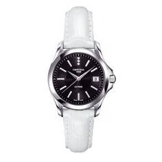 Certina Ladies DS Prime Black Dial Strap Watch