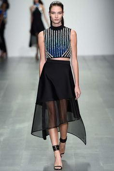 David Koma Spring 2015 Ready-to-Wear