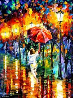 Leonid Afremov is my favorite artist