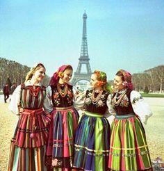 Polish folk cloth
