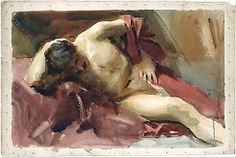 Italian Model John Singer Sargent (American, Florence 1856–1925 London)