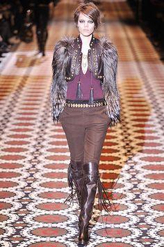 Gucci Fall 2008 Ready-to-Wear Fashion Show - Freja Beha Erichsen