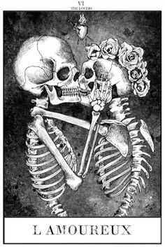skeleton kisses