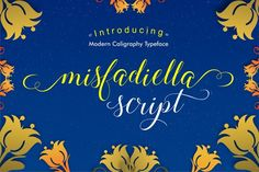 Misfadiella Script by AMStudios on @creativemarket