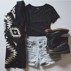 Love the aztec cardigan