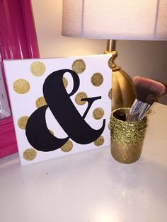 Kate Spade Inspired Ampersand Canvas