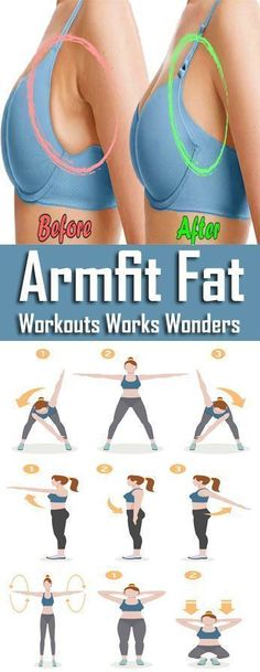 8 Best Exercises To Reduce Armpit Fat Quickly #BestExercises #ArmpitFatQuickly