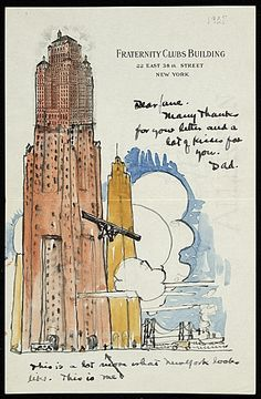 Illustrated Envelope - Smithsonian Archives of American Art