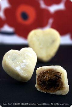valentine mooncakes