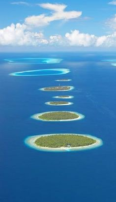 The Maldives is an Islamic republic which lies off the Indian sub-continent. It is made up of a chain of nearly 1,200 islands, most of them uninhabited. None of the coral islands measures more than 1.8 metres (six feet) above sea level, making the country vulnerable to a rise in sea levels associated with global warming.