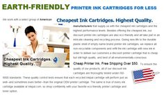 At http://www.inkpal.com you will find many different inkjet and toner cartridges for different printer, fax and copier models including Tektronix, MICR, HP, Lexmark, IBM and Xerox.