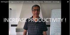 """INCREASE PRODUCTIVITY !""  Testimonials Anil Dagia's #ICF #NLP #Training #Mumbai ( #India )  Amol Saoji, Senior Leader, Retail Industry  http://anildagia.com/icf-nlp-coach-dual-certification-training-testimonials/462-amol-saoji-icf-approved-nlp-coach-certification-mumbai-india  #ICF #NLP #PRACTITIONER #DUAL #Certification #Life #Coach Training  APR #Mumbai - http://anildagia.com/training-calendar/icf-certification/anil-dagia-s-icf-nlp-practitioner-dual-certification-training-apr-2017-mumbai"