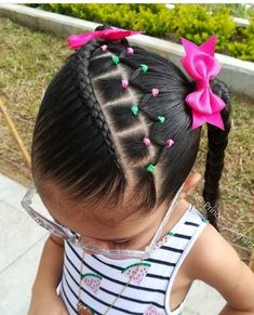 African Hairstyles, Down Hairstyles, Cute Hairstyles, Cute Toddler Hairstyles, Little Girl Hairstyles, Baby Girl Hair, Let Your Hair Down, Braid Styles, Fine Hair