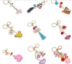 cute diy more keychain chamrs for handbag key holder.jpg