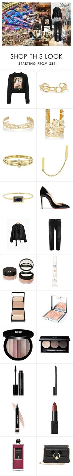 """""""Missed Connections"""" by atho-12345 on Polyvore featuring Christopher Kane, Jennifer Fisher, Jennifer Meyer Jewelry, Christian Louboutin, Acne Studios, Sisley, Edward Bess, NARS Cosmetics, Serge Lutens and Couture Colour"""