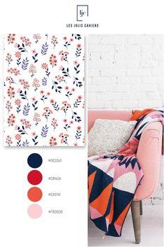 Créez votre cahier personnalisé à partir de jolies nuances qui suivent les tendances de la mode et de la déco. #nuancier #palette #inspiration #inspirationcouleur #joliescouleurs #bleu rouge #orange #rose #cahierpersonnalise #jolicahier #papeterie #ecriture #lesjoliscahiers #inspirationcouleur Le Jolie, Palette, Kids Rugs, Home Decor, Color Inspiration, Shades, Paper Mill, Red, Decoration Home