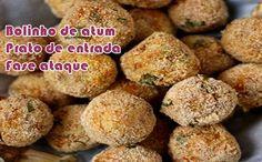 Bolinho de atum com requeijão - Receitas dukan #receitasdukan #receitas #dieta #dukan