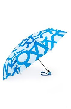 MARC BY MARC JACOBS I love this one...anything with text! 'Bold Logo' Umbrella available at #Nordstrom