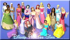Disney Princess Sims 2 by Ariel90.deviantart.com on @deviantART