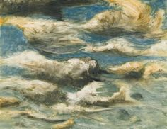 RA Summer Exhibition 2015 work 811 :CLOUDS AND SKY III by Bill Jacklin RA, £4500.