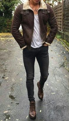 Dope Outfits For Guys, Casual Outfits, Men Casual, Moda Formal, Trendy Mens Fashion, Style Masculin, Luxury Lifestyle Fashion, Look Man, Winter Outfits Men