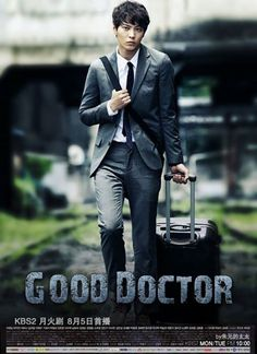 Good Doctor, is about an autistic savant, Park Shi-On, who has the mentality of a ten-year old.  However, his genius capacities coupled with an exceptional memory, eventually lead him to want to become a pediatric surgeon. Unfortunately, his autistic tendencies create conflicts in the O.R., especially with the lead surgeon. Despite warm-hearted and fair colleagues,  it's a fierce and competitive environment, and soon he faces another challenge  - he begins to fall in love with Yoon Seo.