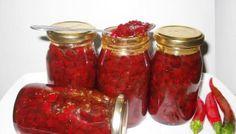 Bucataras.ro – retete de conserve :: Pagina 3/32 Romanian Food, Romanian Recipes, Preserves, Pickles, Chili, Cooking Recipes, Jar, Drinks, Cooking