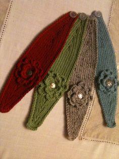 Knitted Earwarmers