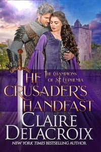 """Read """"The Crusader's Handfast A Medieval Scottish Romance"""" by Claire Delacroix available from Rakuten Kobo. Duncan loved and lost—until Radegunde convinced him to surrender his heart again. After the loss of his wife, Duncan has. Templar Treasure, Greater Good, Buy Prints, Great Books, Bestselling Author, Claire, Medieval, Champion, Romance"""