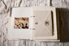 Love the addition of envelopes to journals! My personal favorite are archival glassine envelopes for found object keeping/viewing