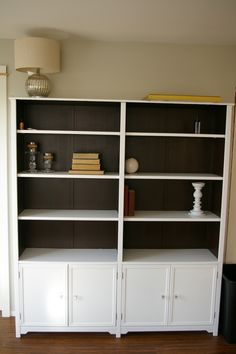1000 images about home office inspiration on pinterest for Do it yourself built in bookshelves