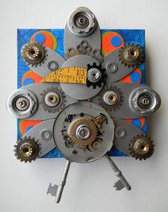 Mechanical Peacock