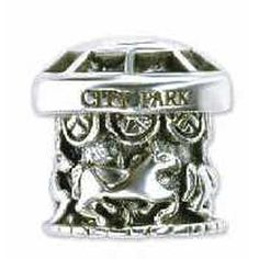 #charm #neworleans #carousel City Park Carousel Sterling Silver Charm that Fits All Major Bracelets - Only $37 !!
