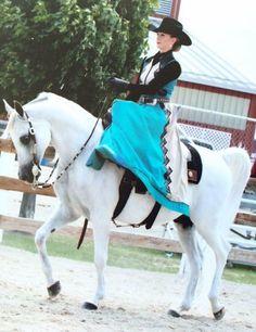 Arabian Western Sidesaddle