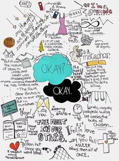 The Fault in Our Stars- John Green Stretched Canvas @Joanna García