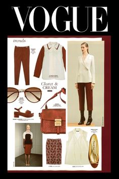 Vogue UK featured our India Burgundy Leather flats in the 'More Dash Than Cash' supplement in this month's issue!