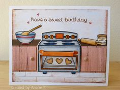 Sprinkled with Joy (birthday card)