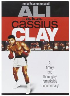 This #documentary combines black-and-white with color photography to tell the story of heavyweight boxing champion #MohammedAli, formerly known as #Cassius #Clay. Richard Kiley narrates, and personal accounts from Joe Louis and #Ali himself firmly puts Ali in an elite group of boxers that is second only to Louis in the sport's popularity and stature. #CassiusClay #AliAKACassiusClay #DVD #boxer #boxing