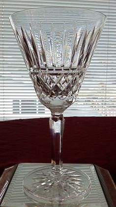 WATERFORD MAEVE Wine/Water Crystal Stemware. $85.00, via Etsy.