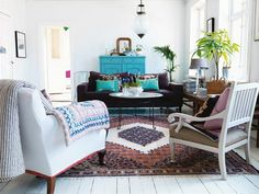 Mi rincón favorito: una colorida casa country