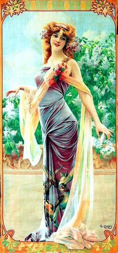 Art Nouveau Lilac Gaspar Camps