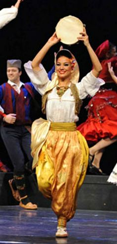 Female national costume of Vranje, with a strong influence of the long occupation of the Ottoman Empire in the past - Serbia