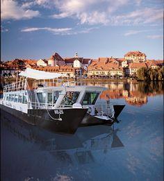 Turist boat Dravska Vila on river Drava - Maribor - SI Slovenia, A Funny, Getting To Know, Boat, Romantic, River, Dinghy, Boats, Romance Movies