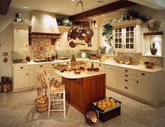 Kitchen looks ideas small kitchen remodel,house interior kitchen interior decoration of kitchen in india,kitchen unit ideas how to make modular kitchen cabinets. Country House Interior, Tuscan Kitchen, Home Kitchens, Country Kitchen Decor, Country Style Kitchen, Kitchen Interior, Interior Design Kitchen, Country Kitchen Designs, Primitive Kitchen Decor