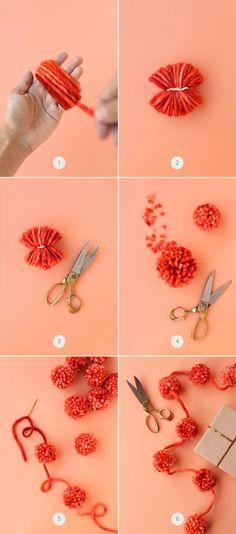 Pompom, craft ideas - Ponponlayalım!